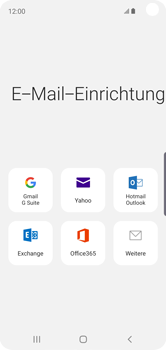 Samsung Galaxy S10e - E-Mail - Konto einrichten - Schritt 6