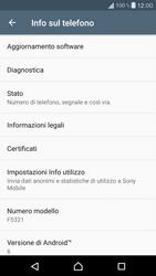 Sony Xperia X Compact - Software - Installazione degli aggiornamenti software - Fase 6