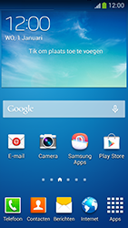 Samsung G386F Galaxy Core LTE - E-mail - e-mail instellen: POP3 - Stap 1