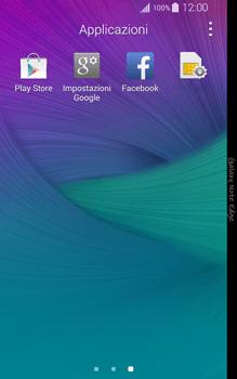 Samsung Galaxy Note Edge - Applicazioni - Come verificare la disponibilità di aggiornamenti per l