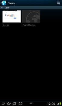 Samsung P3100 Galaxy Tab 2 7-0 - Internet - navigation sur Internet - Étape 9