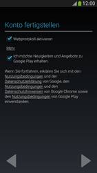 Samsung Galaxy S 4 Mini LTE - Apps - Einrichten des App Stores - Schritt 17