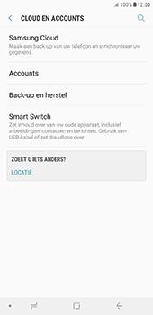 Samsung Galaxy J6 Plus - toestel resetten - back-up maken met jouw account - stap 7