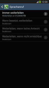 Samsung N9005 Galaxy Note 3 LTE - Anrufe - Rufumleitungen setzen und löschen - Schritt 11