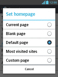 LG E430 Optimus L3 II - Internet - Manual configuration - Step 23