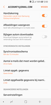Samsung galaxy-a8-2018-sm-a530f-android-oreo - E-mail - Instellingen KPNMail controleren - Stap 13