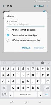 Samsung Galaxy J6 Plus - Internet et connexion - Accéder au réseau Wi-Fi - Étape 8