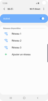Samsung Galaxy S10e - WiFi - Configuration du WiFi - Étape 7