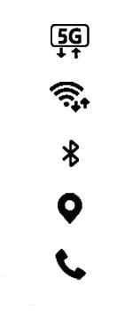 Samsung Galaxy A51 5G - Premiers pas - Comprendre les icônes affichés - Étape 16