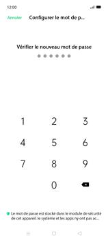 Oppo Find X2 Lite - Sécuriser votre mobile - Activer le code de verrouillage - Étape 9