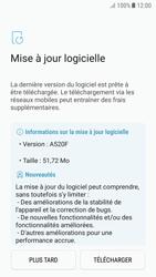 Samsung Galaxy A5 (2017) - Android Nougat - Logiciels - Installation de mises à jour - Étape 8