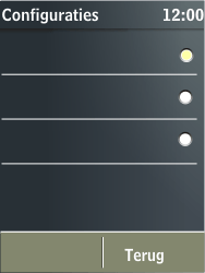Nokia X3-02 - MMS - Automatisch instellen - Stap 11