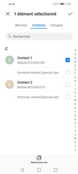 Huawei P Smart 2021 - Contact, Appels, SMS/MMS - Envoyer un SMS - Étape 6