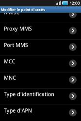 Samsung S5660 Galaxy Gio - MMS - Configuration manuelle - Étape 10