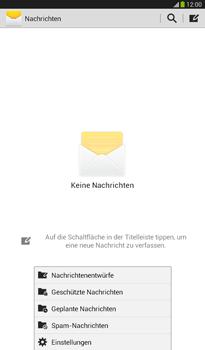 Samsung Galaxy Tab 3 7-0 - SMS - Manuelle Konfiguration - 5 / 9