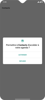 OnePlus 7T - Contact, Appels, SMS/MMS - Ajouter un contact - Étape 4