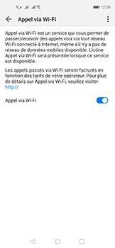 Huawei Nova 5T - WiFi - Activez WiFi Calling - Étape 9