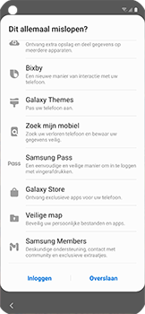 Samsung galaxy-xcover-pro-sm-g715fn - Instellingen aanpassen - Nieuw toestel instellen - Stap 30