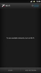 Sony Xperia S - WiFi - WiFi configuration - Step 5