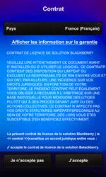 BlackBerry Z10 - Premiers pas - Créer un compte - Étape 7