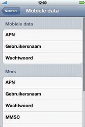 Apple iPhone 4 S - Internet - Handmatig instellen - Stap 7