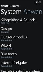 Nokia Lumia 800 / Lumia 900 - WiFi - WiFi-Konfiguration - Schritt 4