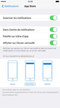 Apple Apple iPhone 6 Plus iOS 10 - iOS features - Personnaliser les notifications - Étape 10