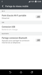 HTC Desire 530 - Internet et connexion - Utiliser le mode modem par USB - Étape 7