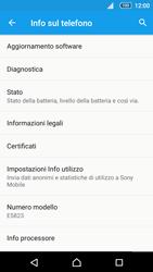 Sony Xperia Z5 - Software - Installazione degli aggiornamenti software - Fase 6