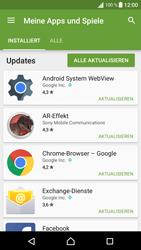 Sony Xperia XA - Apps - Nach App-Updates suchen - Schritt 6
