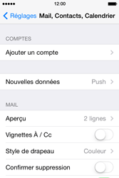 Apple iPhone 4S iOS 7 - E-mail - 032c. Email wizard - Outlook - Étape 5