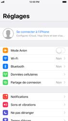 Apple iPhone 7 - iOS 12 - Données - Créer une sauvegarde avec votre compte - Étape 3