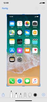 Apple iPhone X - iOS 11 - Bildschirmfotos erstellen und sofort bearbeiten - 4 / 8