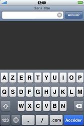 Apple iPhone 3G S - Internet - navigation sur Internet - Étape 3