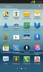 Samsung Galaxy S III Mini - Applications - Installation d