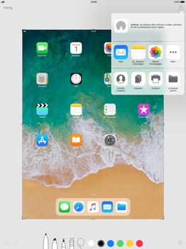 Apple iPad Pro 12.9 inch - iOS 11 - Bildschirmfotos erstellen und sofort bearbeiten - 1 / 1
