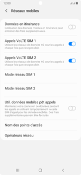 Samsung Galaxy Note 20 Ultra 5G - Réseau - Sélection manuelle du réseau - Étape 14