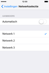 Apple iPhone 4S (iOS 9) - netwerk en bereik - gebruik in binnen- en buitenland - stap 7