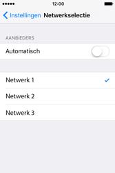 Apple iPhone 4 S iOS 9 - Netwerk - Handmatig netwerk selecteren - Stap 10