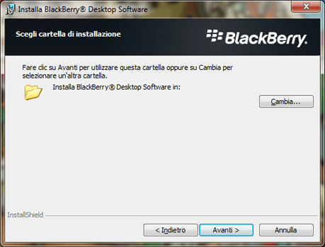 BlackBerry Q10 - Software - Installazione del software di sincronizzazione PC - Fase 8