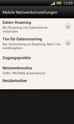 HTC Desire X - Internet und Datenroaming - Deaktivieren von Datenroaming - Schritt 5