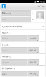 Alcatel OT-5050X Pop S3 - Contact, Appels, SMS/MMS - Ajouter un contact - Étape 7