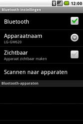 LG GW620 - Bluetooth - koppelen met ander apparaat - Stap 10