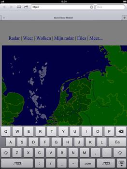 Apple iPad mini - Internet - hoe te internetten - Stap 13