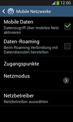 Samsung Galaxy Ace III - Netzwerk - Manuelle Netzwerkwahl - Schritt 6