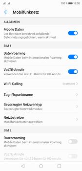 Huawei P20 - Internet und Datenroaming - Deaktivieren von Datenroaming - Schritt 5