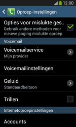 Samsung S7275 Galaxy Ace 3 - Voicemail - handmatig instellen - Stap 7