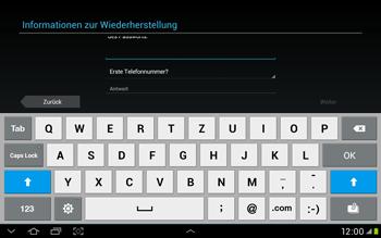 Samsung Galaxy Tab 2 10.1 - Apps - Einrichten des App Stores - Schritt 10