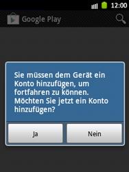 Samsung Galaxy Pocket - Apps - Einrichten des App Stores - Schritt 4