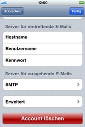 Apple iPhone 3G - E-Mail - Konto einrichten - Schritt 13